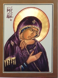 Theotokos from Don't Weep for Me, Mother